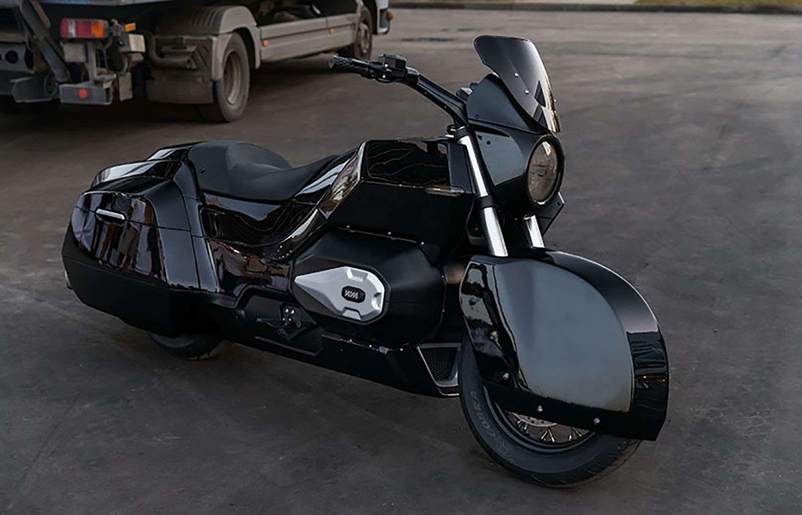 Мотоцикл президентского «Кортежа»: секреты пластикового концепта— фото 815664