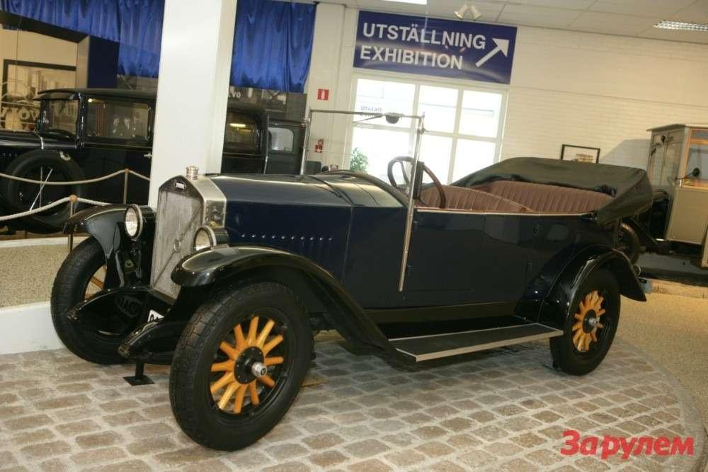 C этого автомобиля началась история Volvo