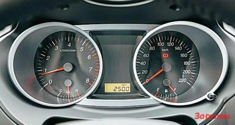 Haima 7Приборы красивы исдержанны— редкость вкитайских автомобилях.