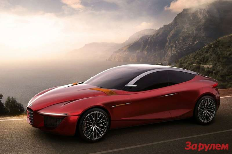 Alfa Romeo Gloria Concept 2013 1600x1200 wallpaper 01