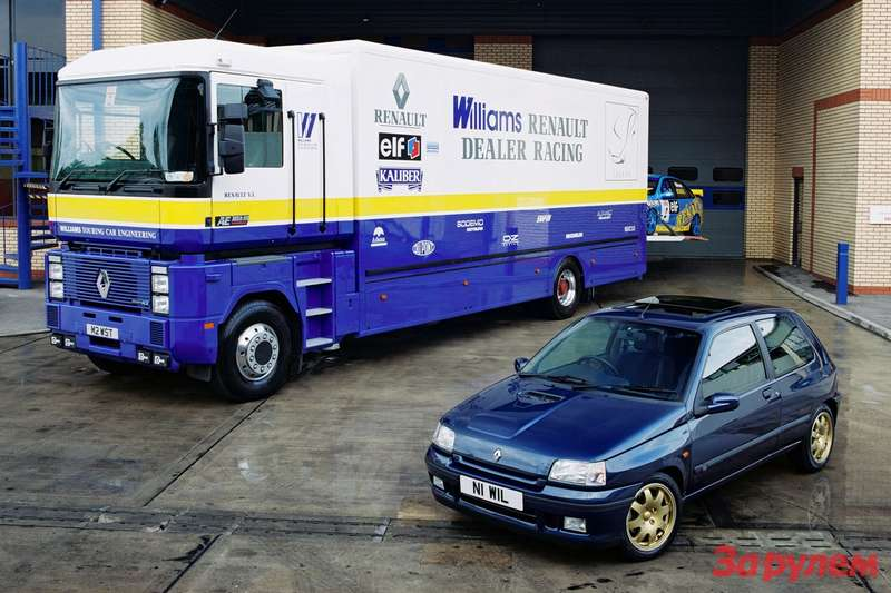 Renault Clio Williams side-front view 2