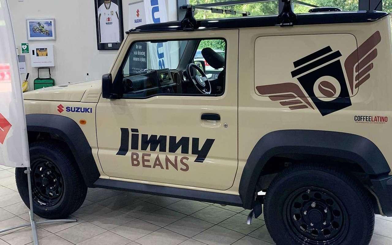 Suzuki Jimny превратили вмобильную кофейню— фото 1274631