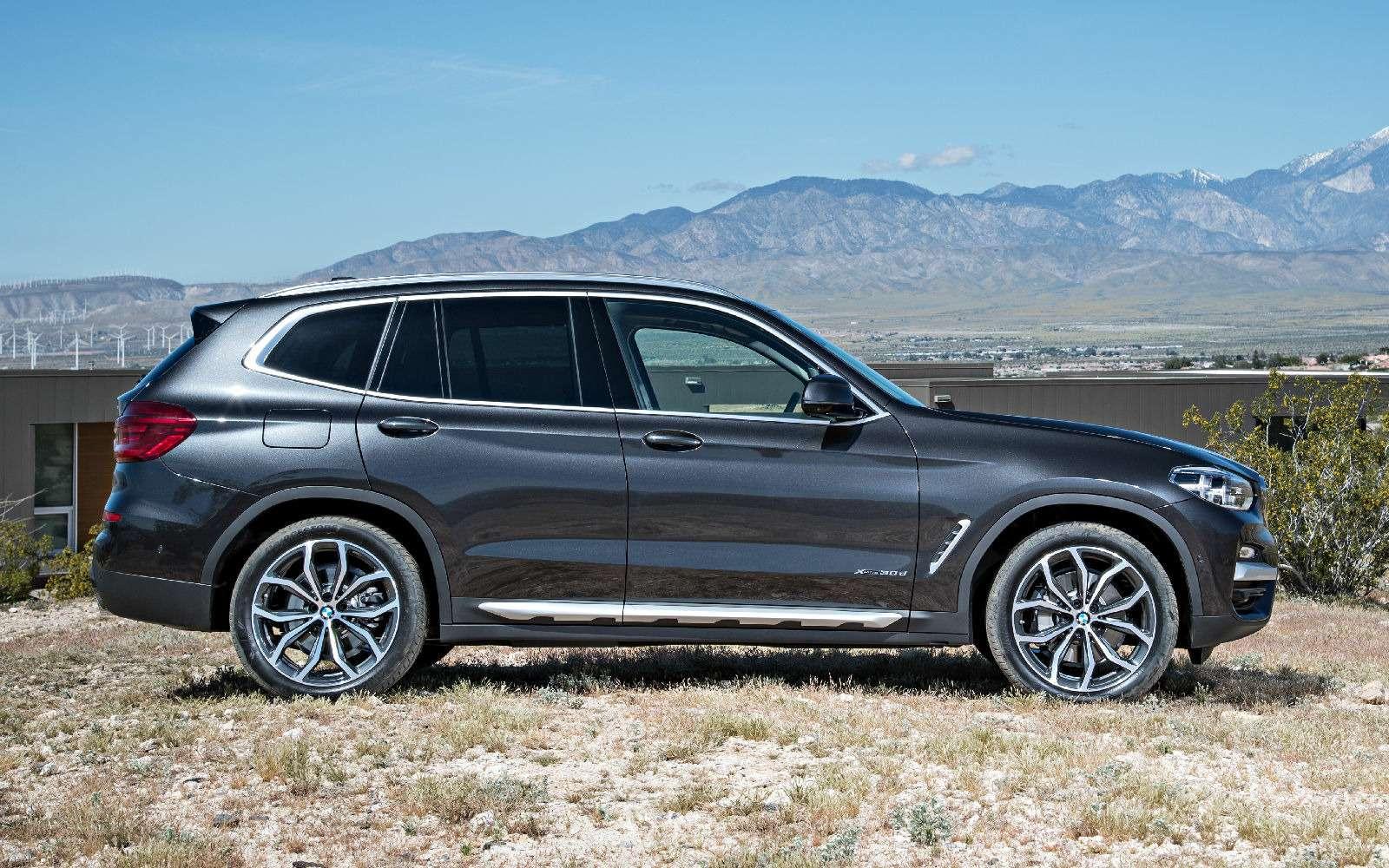 Новый BMW X3оказался крупнее старого Х5— фото 768554