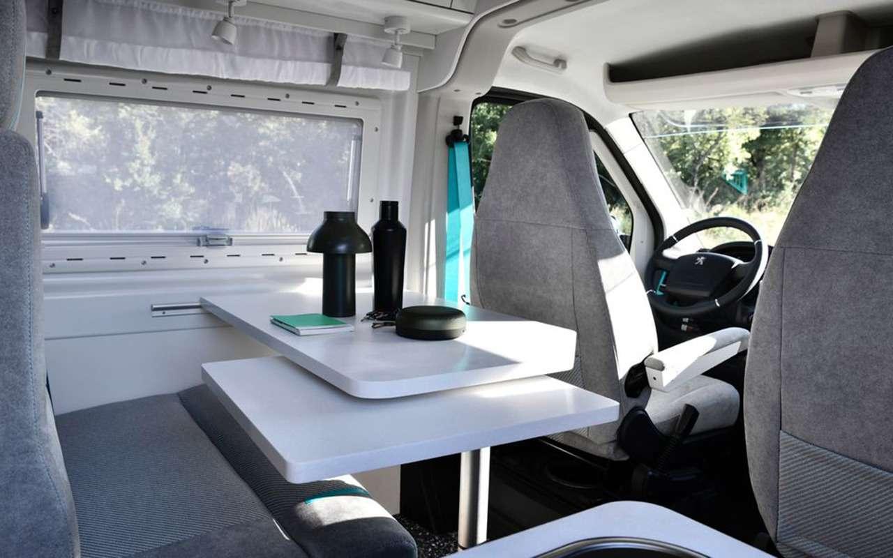 Автодом натроих: Peugeot Boxer вновом исполнении— фото 1055247