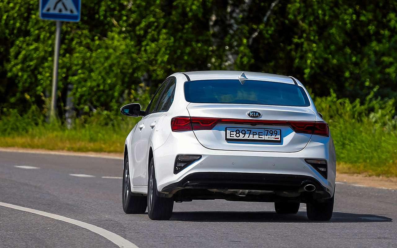 VWJetta, Kia Cerato, Mazda 3— тест-сравнение— фото 1156459