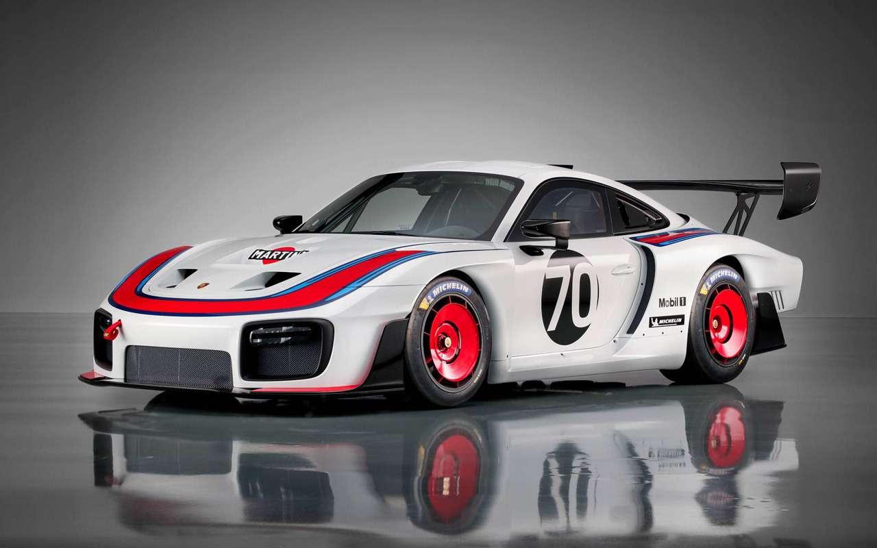 Возвращение Моби Дика: Porsche возродила легендарную модель— фото 911397
