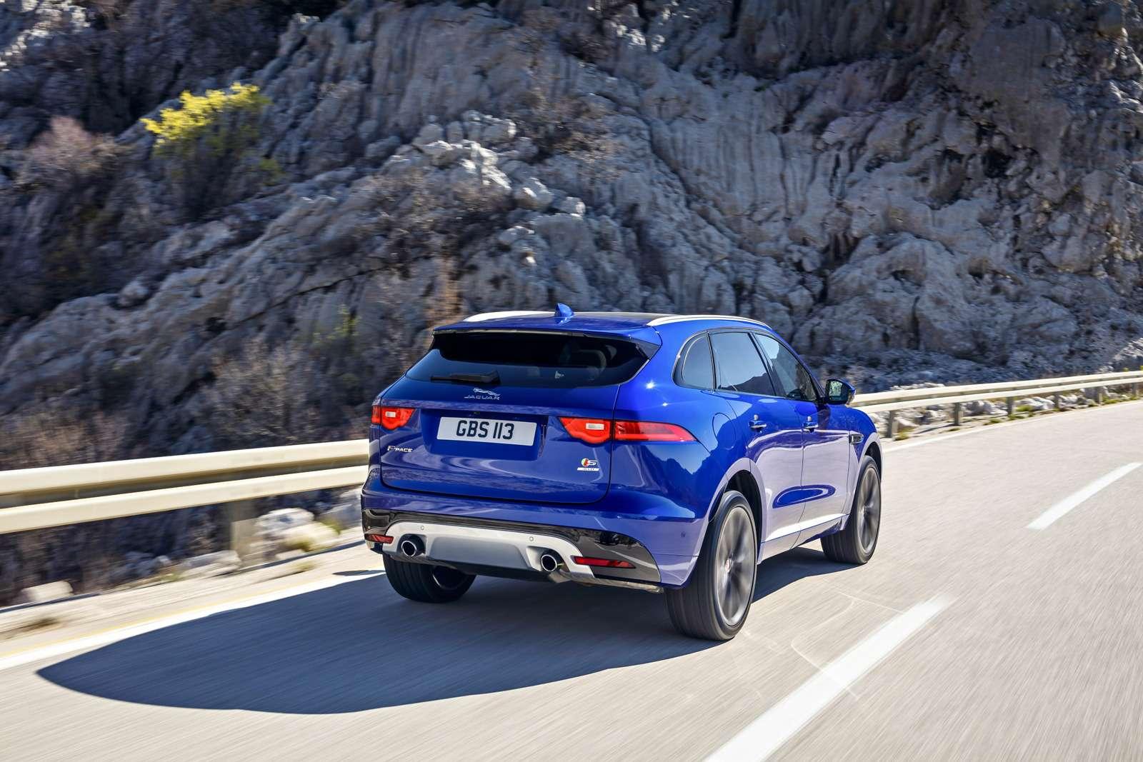 Первый тест нового кроссовера Jaguar F-Pace: пересечения— фото 597175