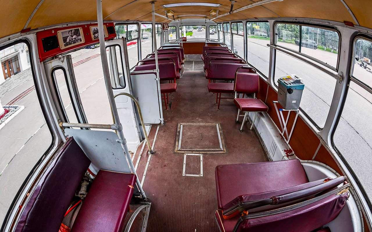 Автобус ЛиАЗ-677— ретротест под«звон бутылок»— фото 793194