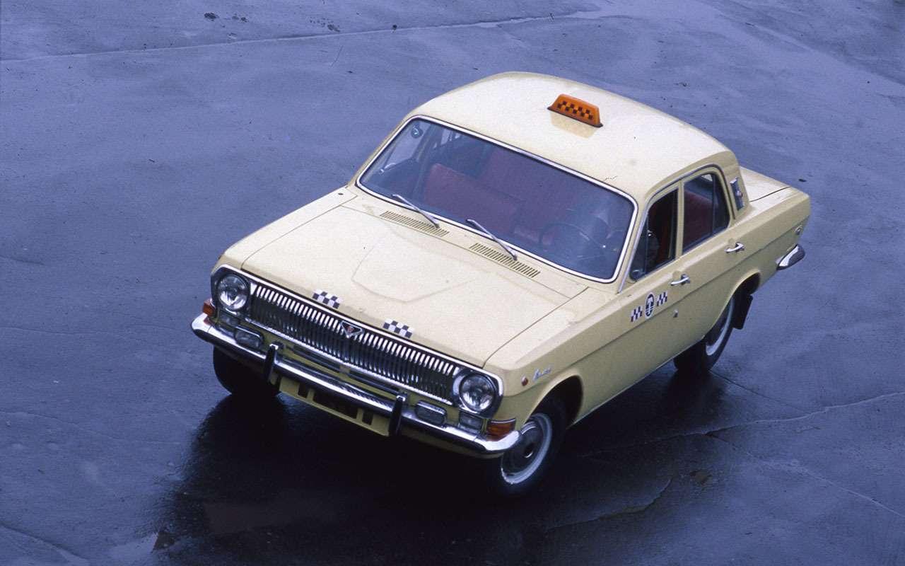 Всетакси СССР: лимузины, кабриолеты, иномарки— фото 1140126