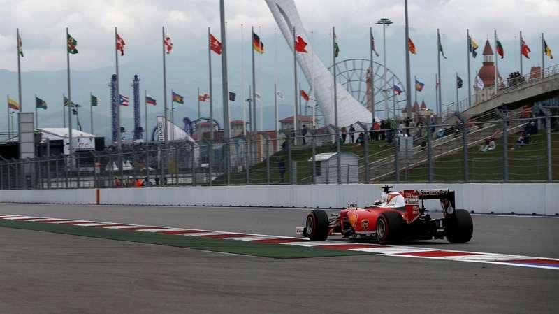 Кими Райкконен, Ferrari, Формула 1, Сочи, Сочи Автодром, Гран При России