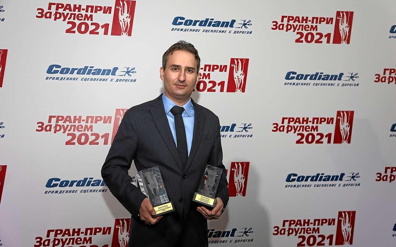 Встречайте 12лучших! Гран-при «Зарулем» 2021— фото 1241839