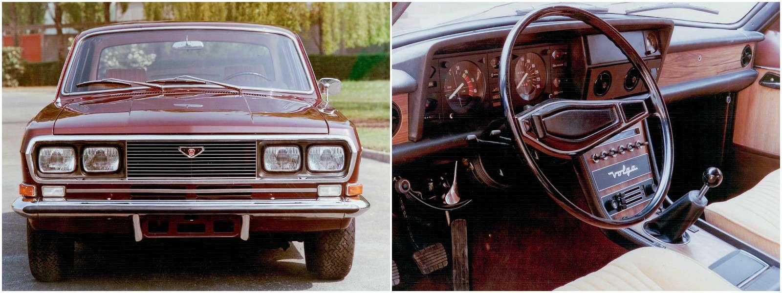 Версия ГАЗ 24подготовленная совместно скомпанией FIAT