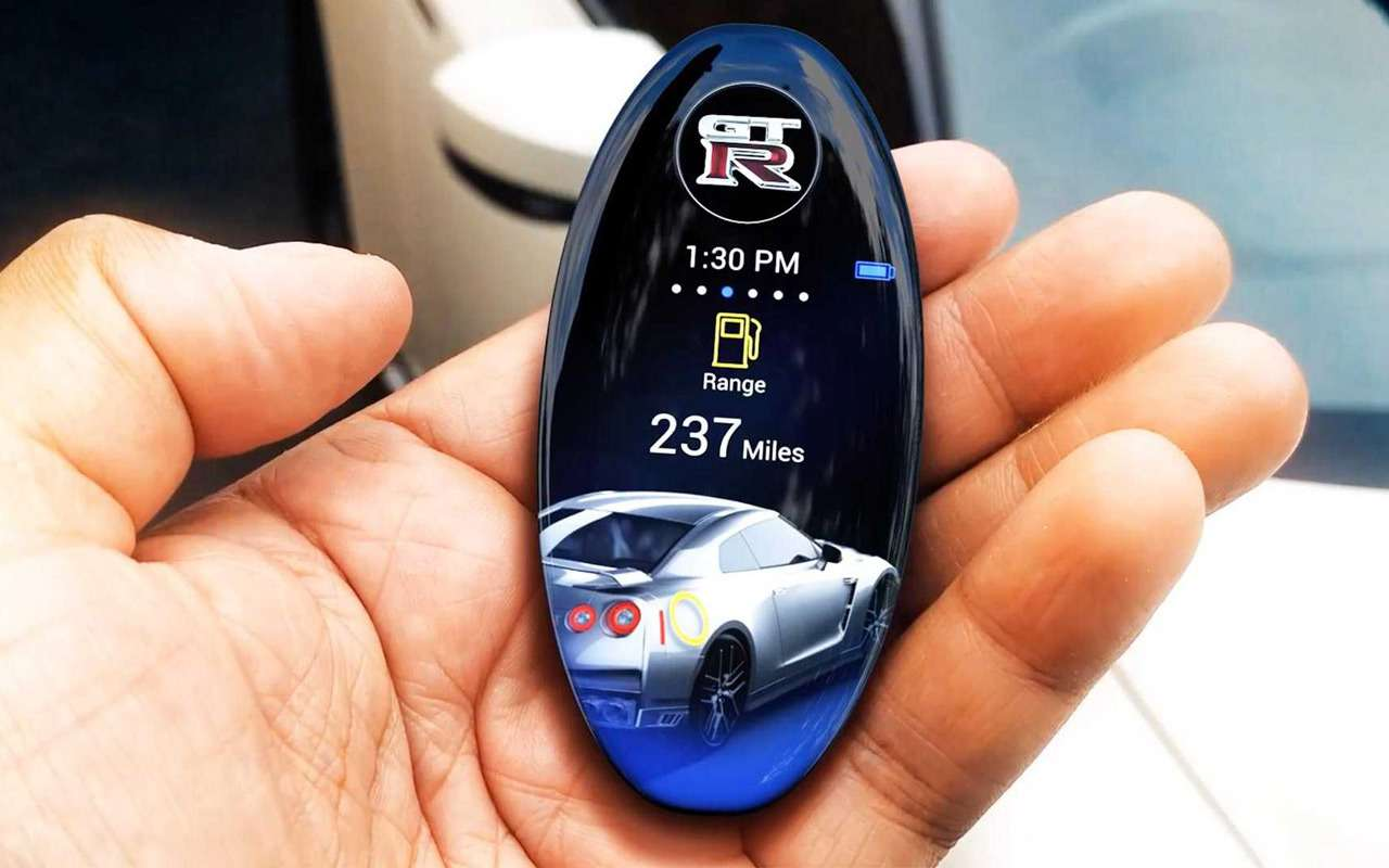 Nissan разработал дляGT-R невероятный ключ— фото 935881