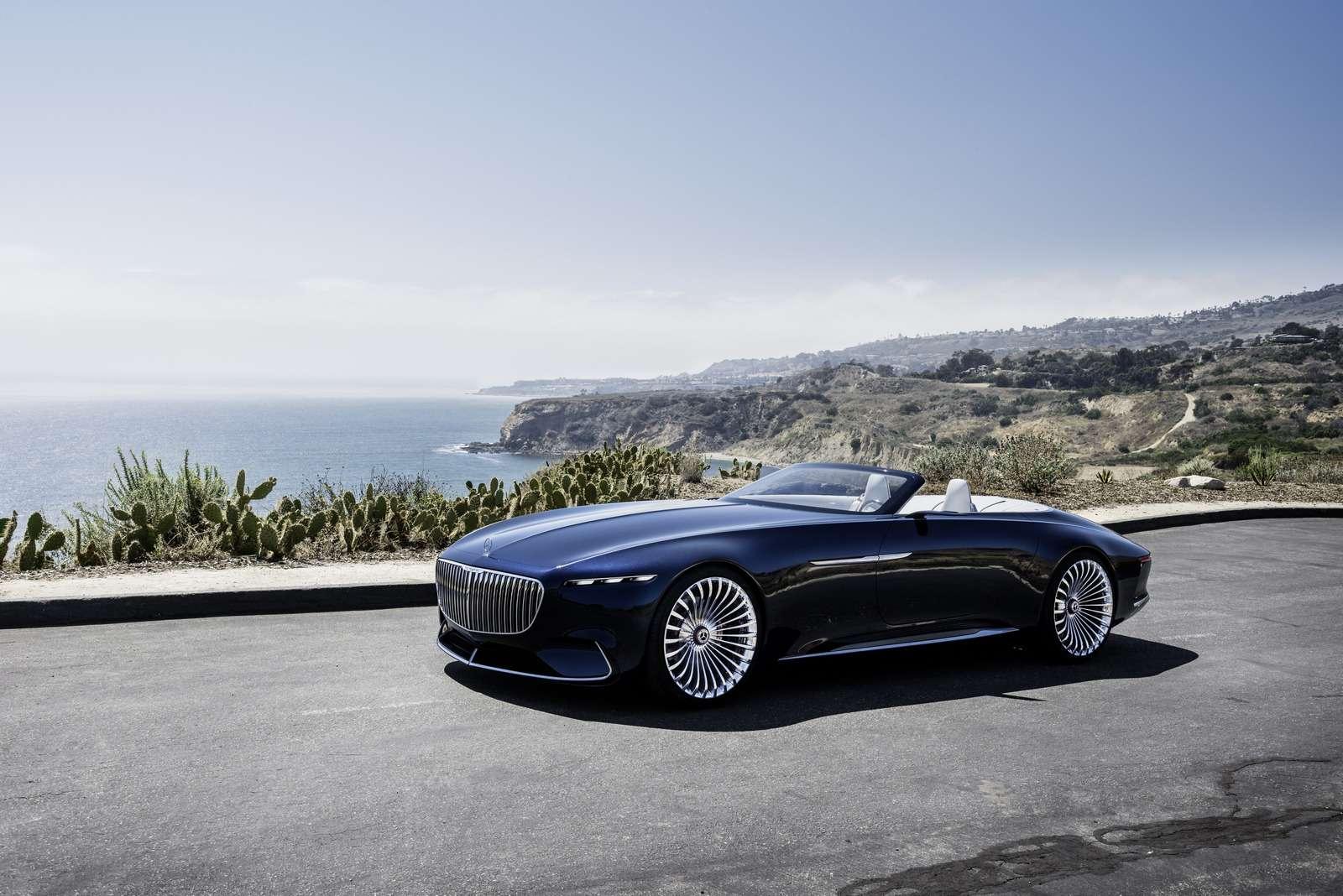 Пикник подкапотом: представлен кабриолет Mercedes-Maybach Vision 6— фото 786170