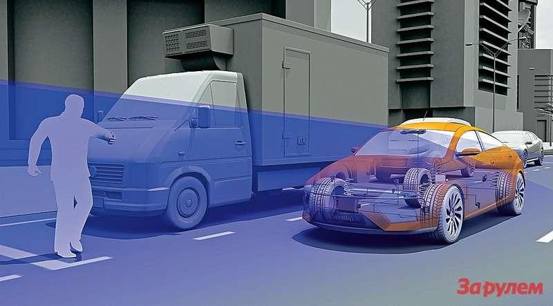Десятки камер, датчиков ирадаров оберегают почти отвсех возможных напастей. Большую часть данных электронные блоки различных ассистентов получают спомощью стереокамеры. Даже внедорогих моделях эти помощники умеют куда больше, чем 10лет назад. Например, парктроник предупредит оприближающейся машине, которую водитель не видит, выезжая изряда стоящих авто.