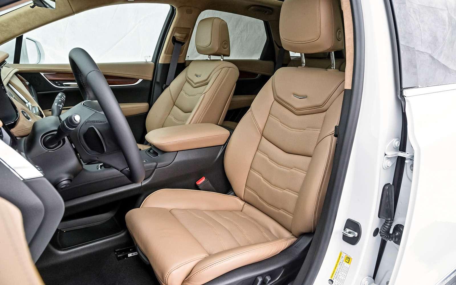 Тест премиум-кроссоверов: Lexus RX350, Cadillac XT5и Jaguar F-Pace— фото 721801