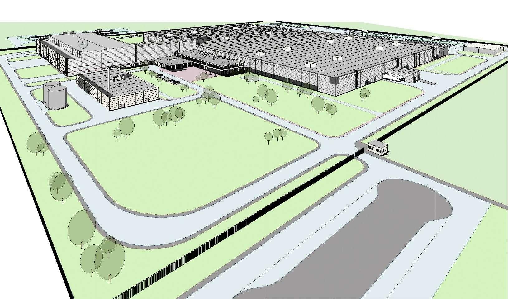 Завод Mercedes-Benz вРоссии— началось строительство!— фото 766454