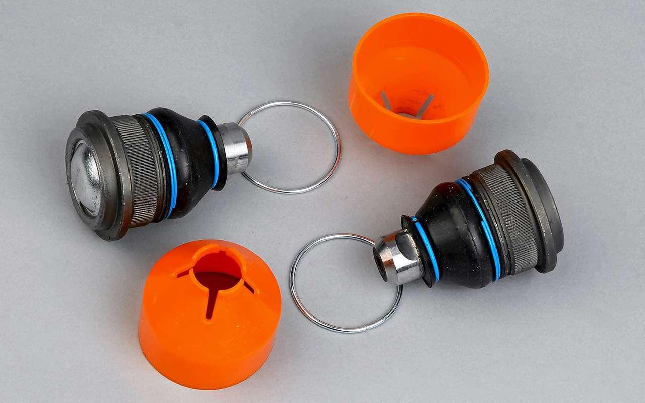 6 шаровых: испытали самую опасную деталь подвески— фото 1209070
