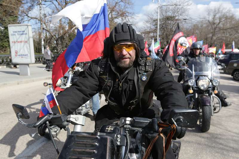 """Our Great Victory"" motor rally starts in Sevastopol"