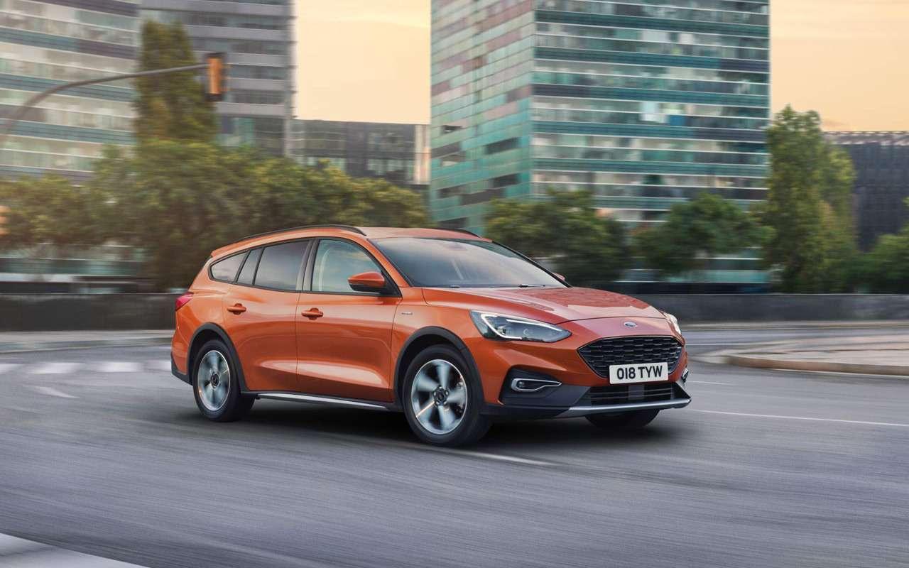 Ford показал новый вариант Focus— фото 924947