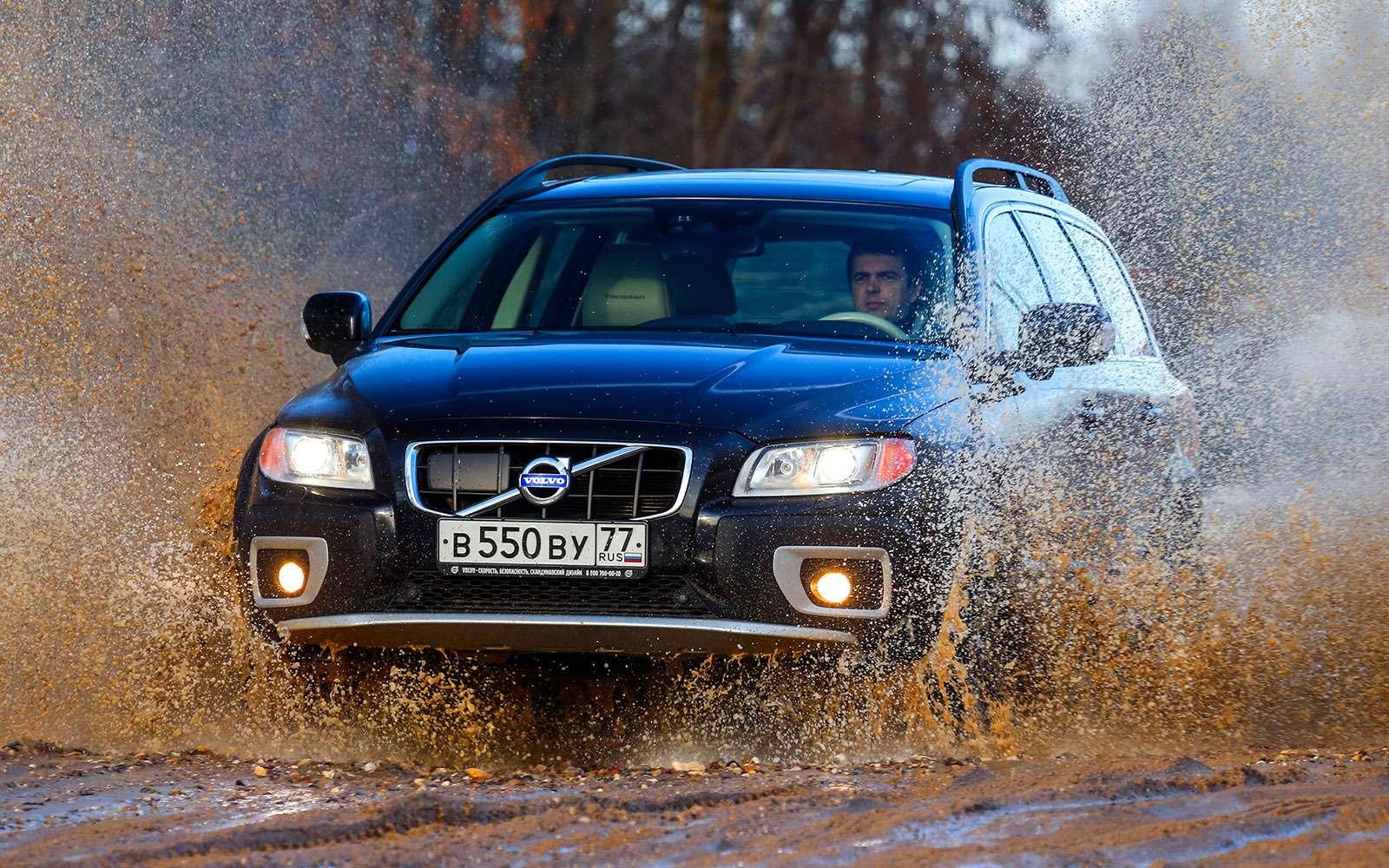 Шведская династия: Volvo V90 Cross Country нафоне предков— фото 776469