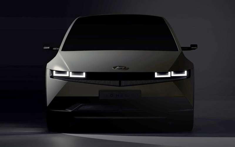 Hyundai показала интерьер нового Ioniq 5