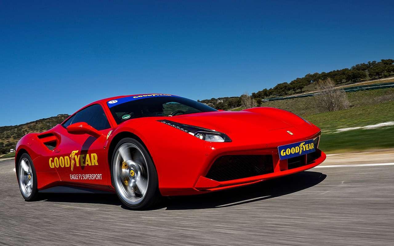 Новые быстрые летние шины: тест нагоночном треке— фото 976025