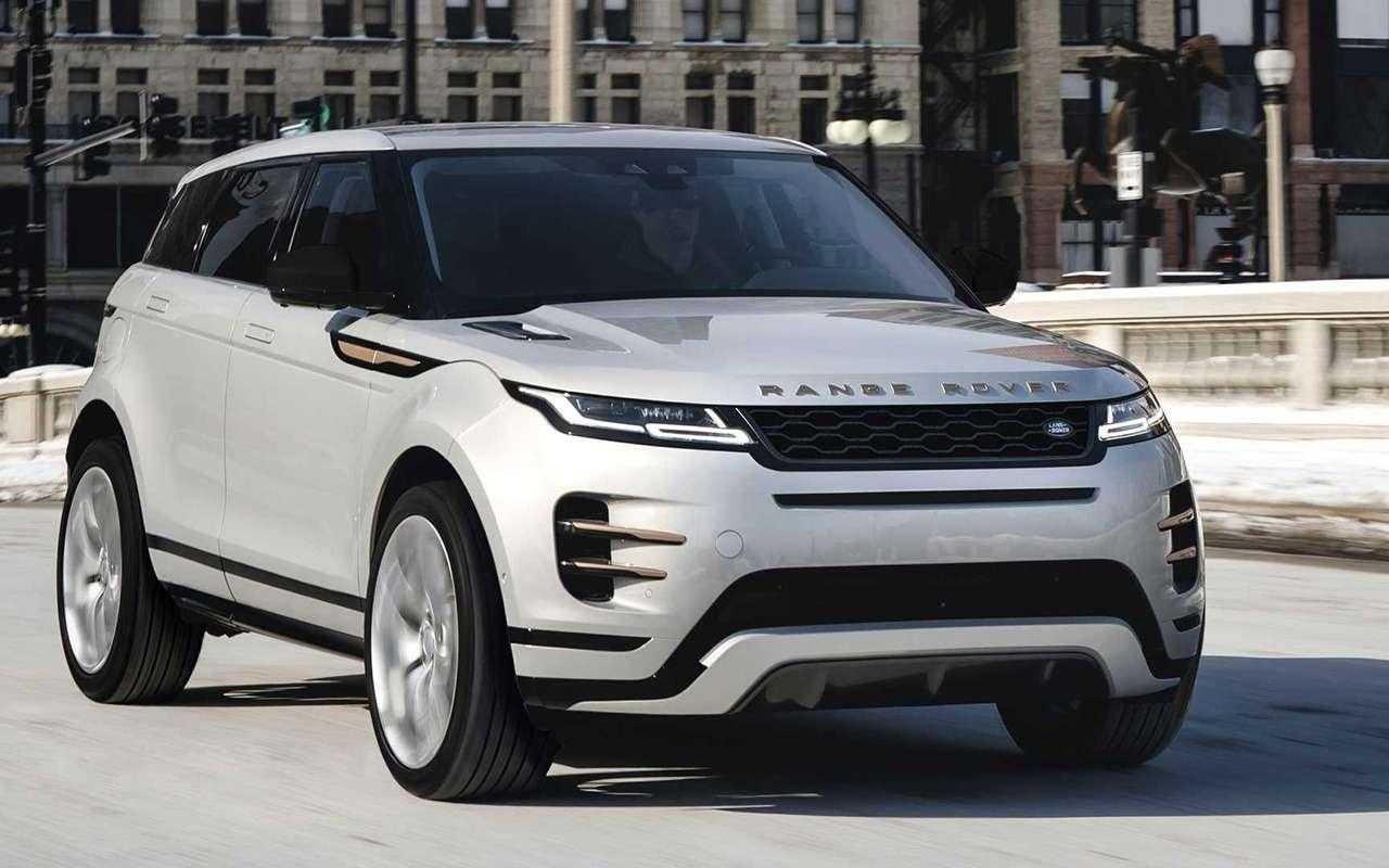 Range Rover Evoque 2021 года— есть изменения— фото 1202779