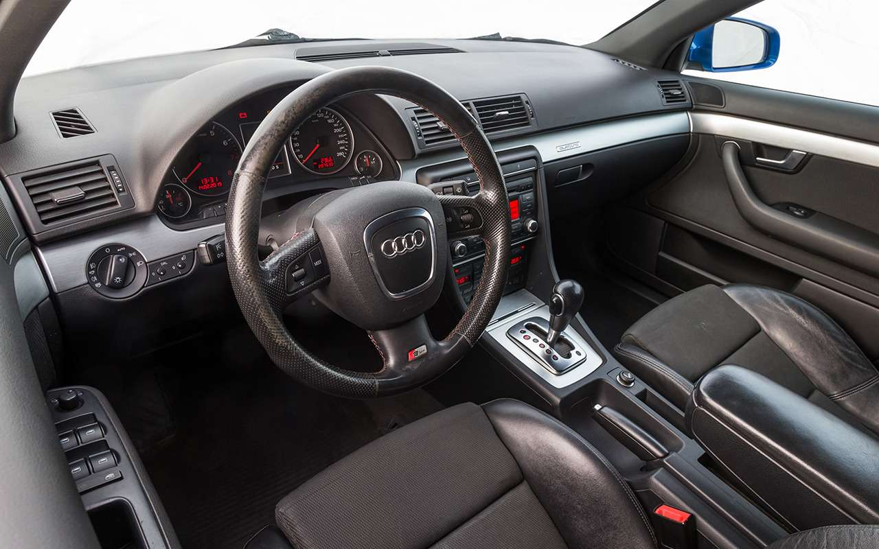 Почему явыбрал Audi A42006 года, аненовую Гранту— вывод эксперта— фото 975261