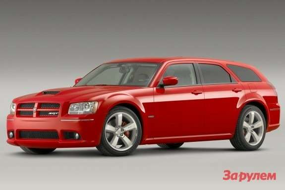 Dodge Magnum SRT8 side-front view