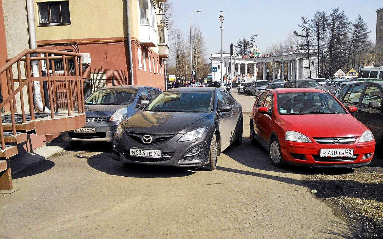 Глас народа: как ненадо парковать машину— фото 610365