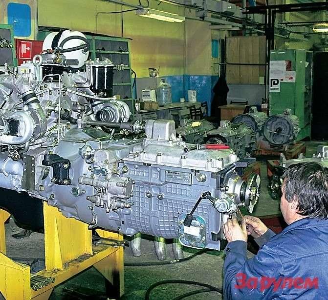 В Набережных Челнах выпускают двигатели нетолько марки КамАЗ, нои«Камминс».