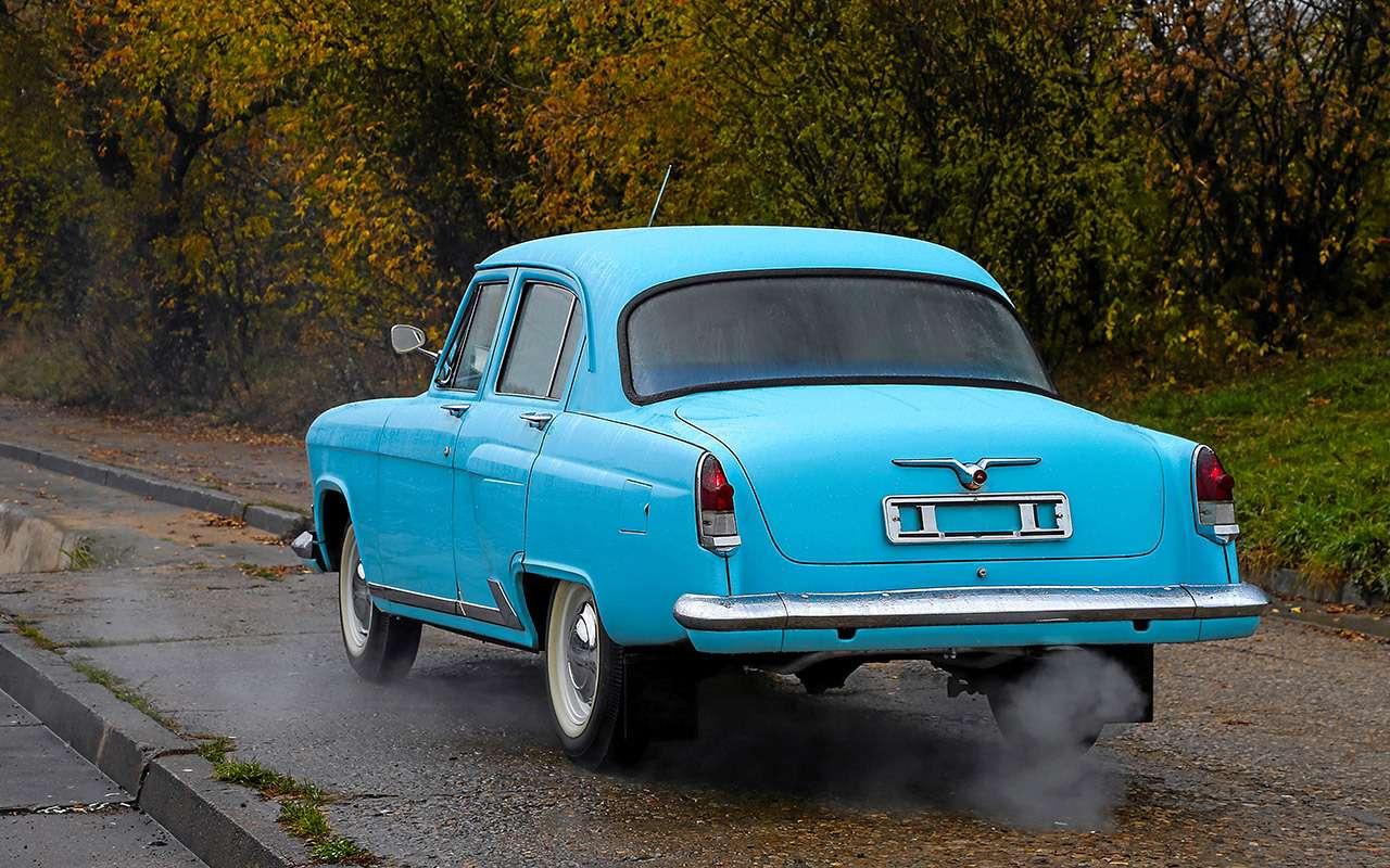 Секретная машина КГБ: ретротест Волги ГАЗ‑23— фото 1231183