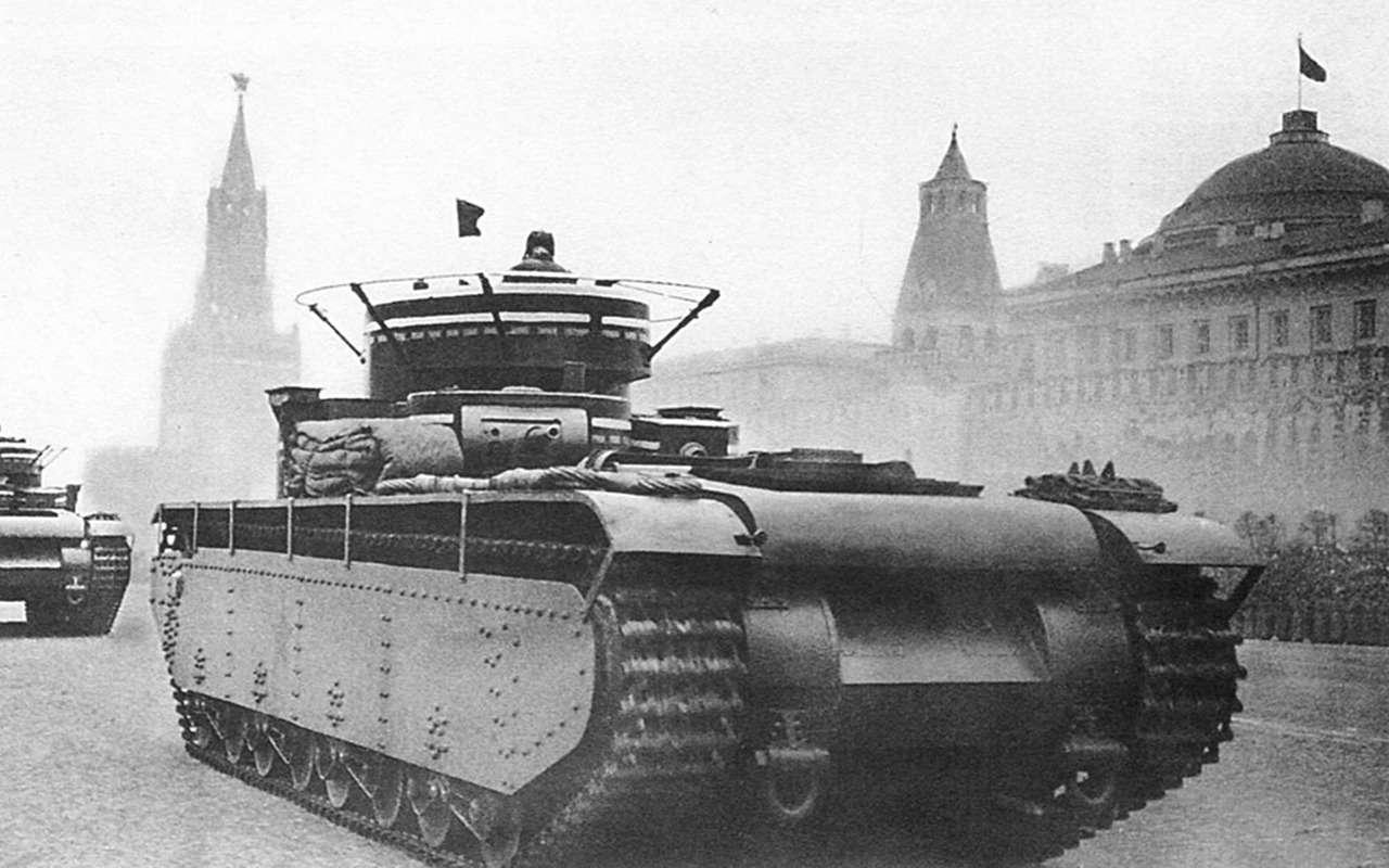 Неизвестный гигант Красной Армии: пятибашенный танк Т-35— фото 974066