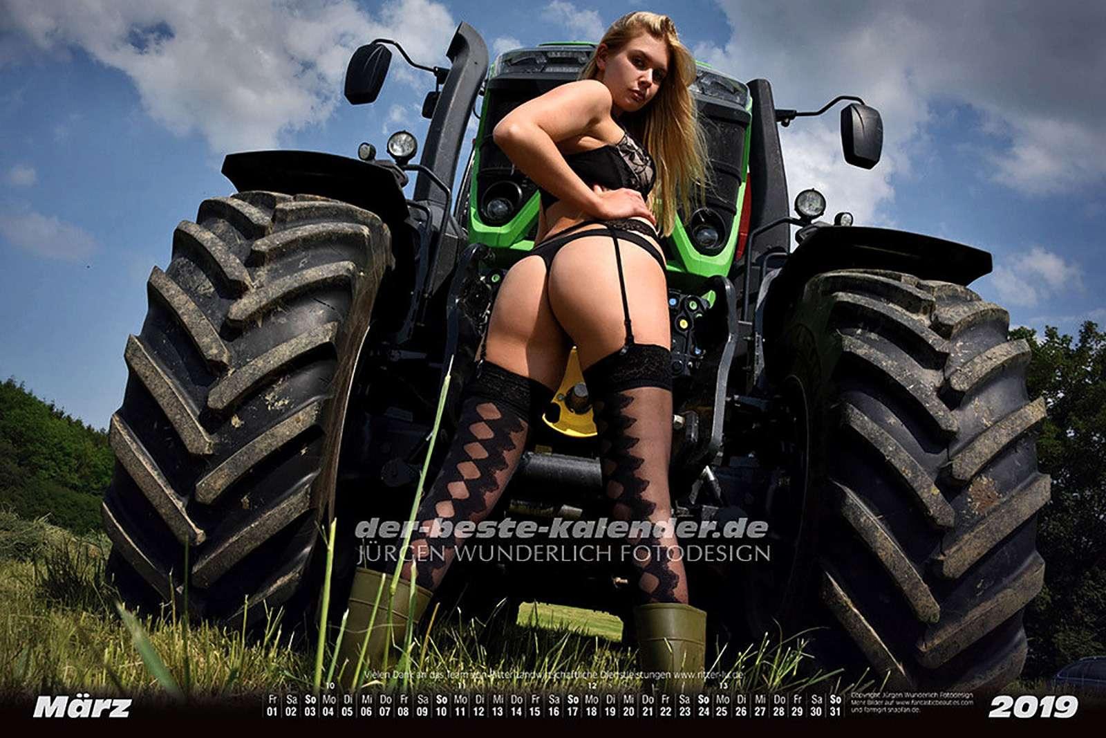 Секс ифермерская техника— провокационный календарь на2019год— фото 938693