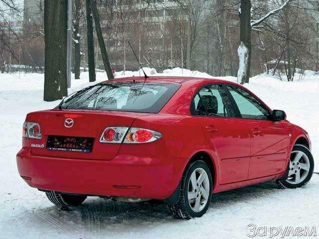 Mazda 6: ЖЕЛЕЗНАЯ ЛОГИКА— фото 66011