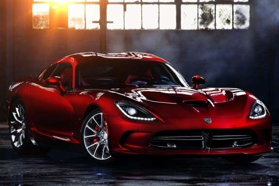 SRT Viper side-front view