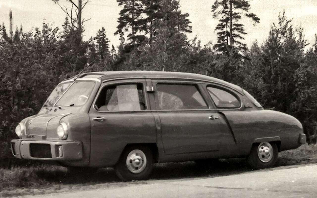 Попробовали— неполучилось! 6советских машин сАКП— фото 1248140
