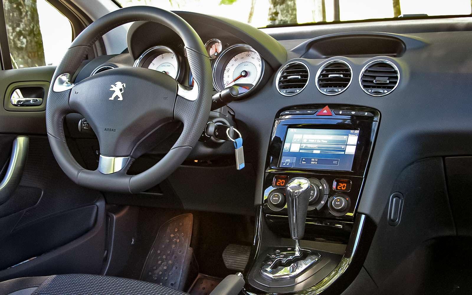 Рестайлинговый Peugeot 408— солидность, гармония иновый автомат— фото 769116