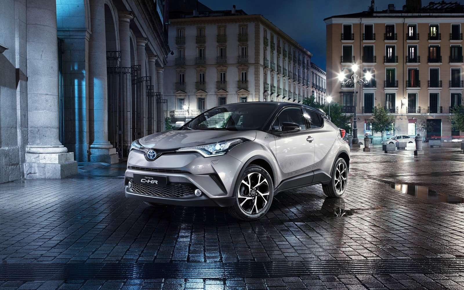 Toyota C-HR идругие: японцы рассказали оновинках дляроссийского рынка— фото 840443