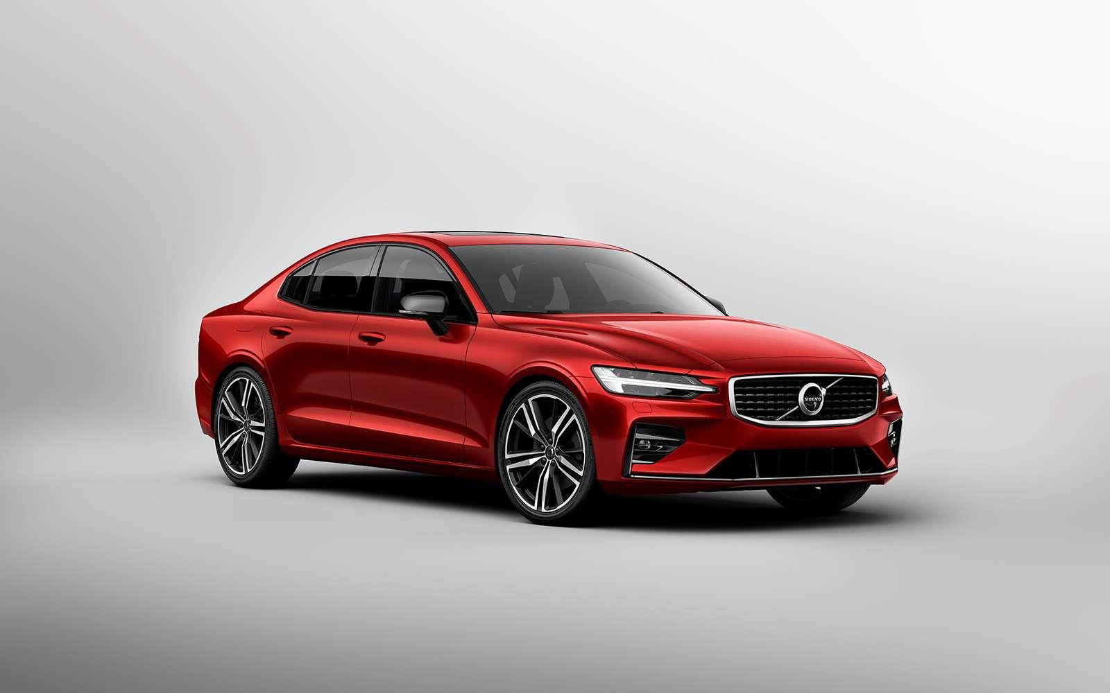 Новый Volvo S60: динамичный ироскошный. Ждем вРоссии!— фото 880618