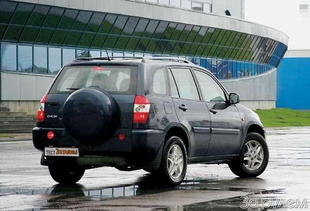 Chery SUV T11. Вишенка отяблони— фото 57116