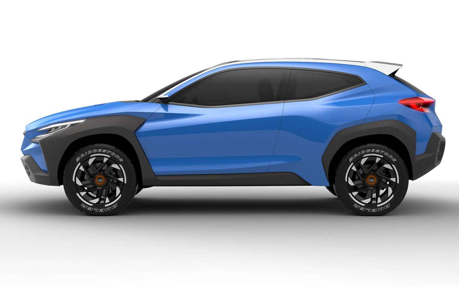 Subaru меняет дизайн: только посмотрите наэтот концепт!— фото 954589
