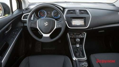 sx4 s cross interior