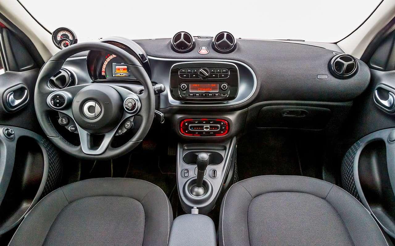 Большой тест маленьких хэтчбеков: Kia Picanto, Datsun mi-DO иSmart ForFour— фото 796016