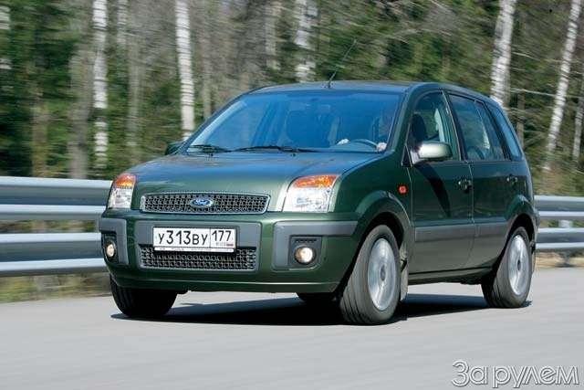 Тест-драйв Ford Fusion, Nissan Note. НОТКА ПРЕВОСХОДСТВА— фото 64997