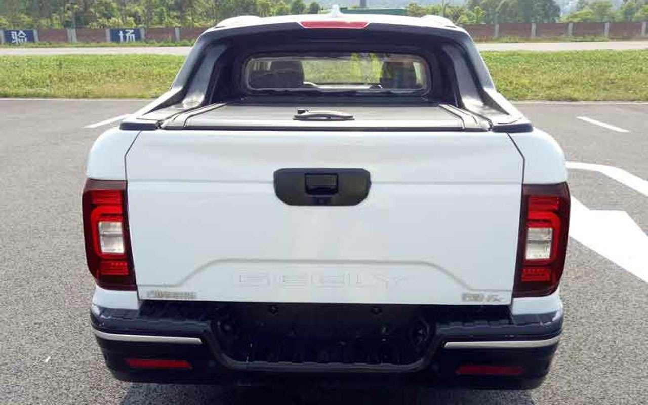 Кросс-пикап Geely Farizon FX— странная химера скоро впродаже— фото 1141464