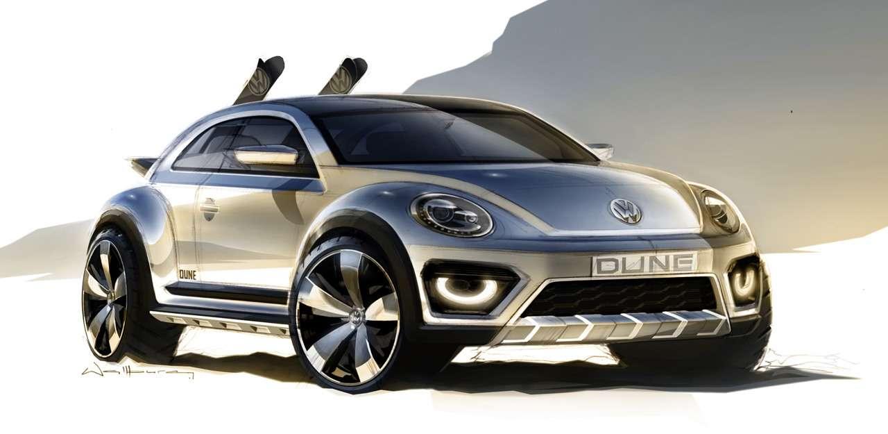 Volkswagen покажет вДетройте концепт внедорожного Beetle