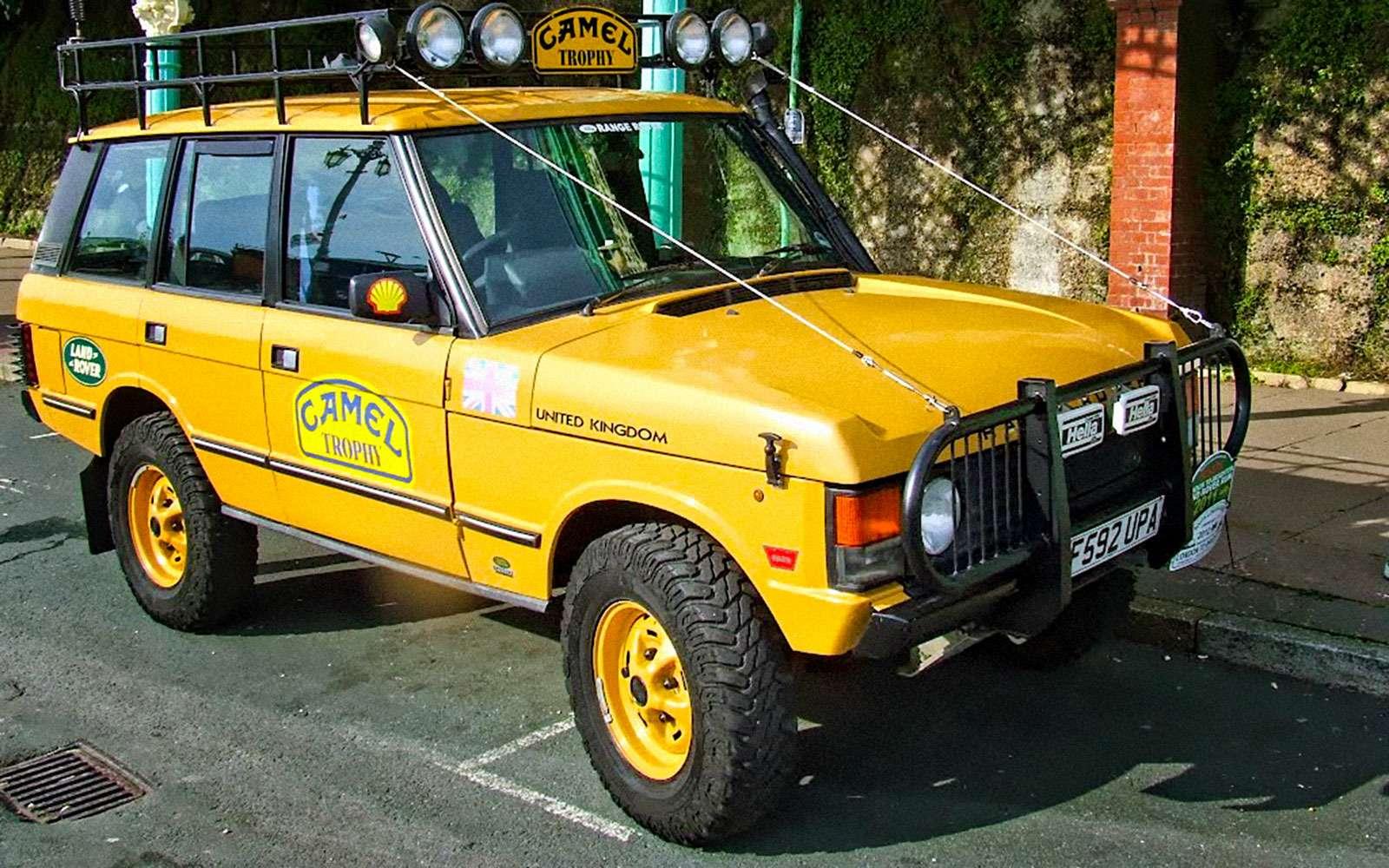 История Land Rover вкартинках: жить полной жизнью— фото 620644