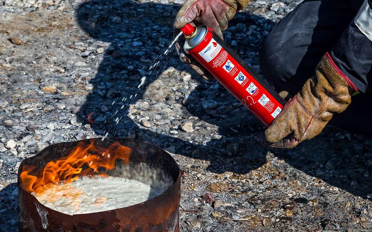 8 огнетушителей: эксперты «Зарулем» выбрали правильные— фото 976826